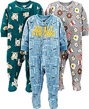 شادی های ساده توسط لباس خواب نوزادان و کودکان و نوجوانان کارتر ، 3 پا لباس خواب شلوار پشمی مناسب