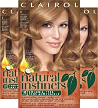 Clairol Natural Instincts Hair Color, Shade 8/5 Champagne On Ice Medium Natural Blonde, 3 Count