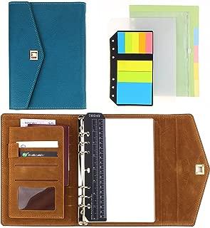 SynLiZy A5 PU Leather Personal Organizer Undated Planner 7.3