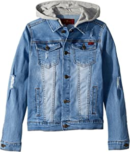 7 For All Mankind Kids Denim Jacket (Big Kids)
