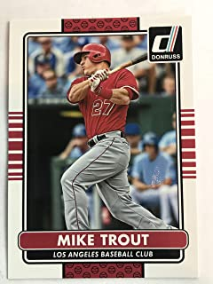 2015 Donruss #100 Mike Trout NM/M (Near Mint/Mint)