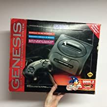 Sega Genesis 2 Console Sonic the Hedgehog 2 Bundle Pack [video game]