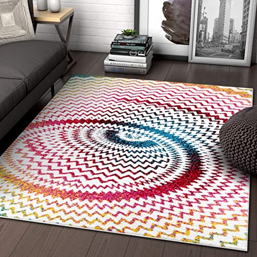 Green Abstract Area Rugs Amazon Com