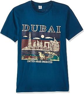 Dubshi D103 Men's Dubai T-shirt, Blue