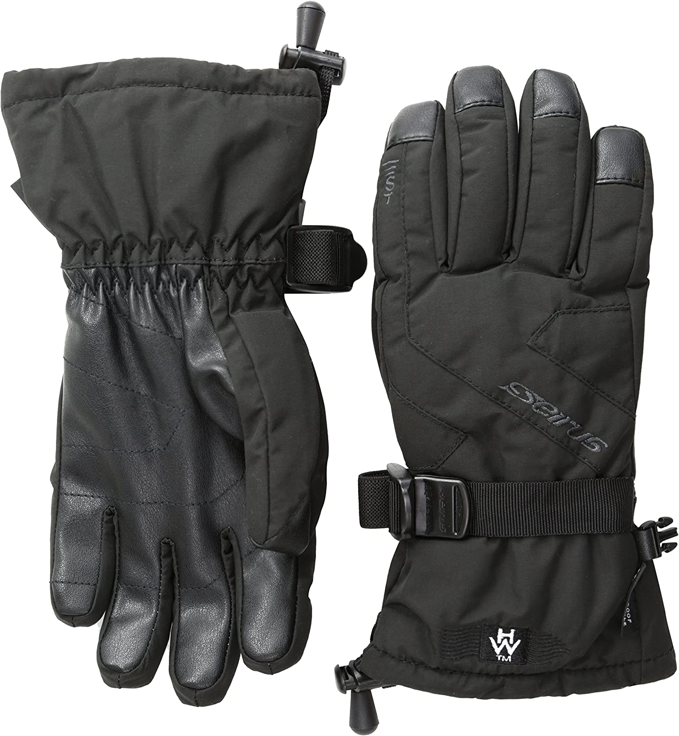 Seirus Innovation 1539 Heatwave Junior Ripper Child Kids Youth Winter Waterproof Glove with Soundtouch Texting Technology