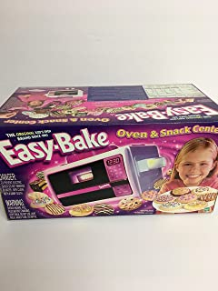 Easy Bake Oven and Snack Center by Hasbro-Special Value! Includes 3 Extra Mixes!