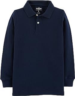 OshKosh B'gosh boys Long Sleeve Uniform Polo Polo Shirt