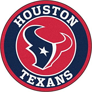 FANMATS 17960 NFL Houston Texans Roundel Mat