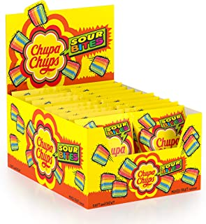 Chupa chups Sour Bites Jellies, 24 gm (Pack Of 20)