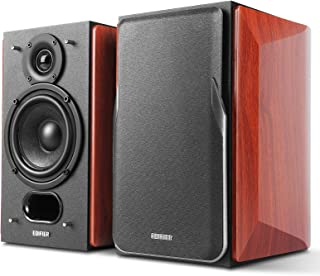 Edifier P17 Passive Bookshelf Speakers - 2-way Speakers with Built-in Wall-Mount Bracket - Perfect for 5.1, 7.1 or 11.1 si...