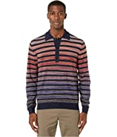 Missoni - Striped Sfumato Polo Sweater