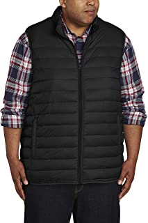 Men's Big & Tall Lightweight Water-Resistant Packable Puffer Vest fit by DXL