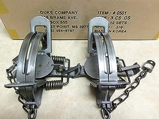 2 Duke #3 CS Offset Traps Coyote Bobcat 0501