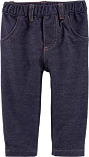 Baby Boys' Faux Denim Jeans