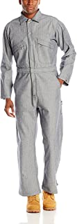 Key Men's Long Sleeve Fisher Stripe Unlined Coverall, X-Large