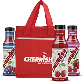 CHERRISH Tart Cherry Juice - 12oz - 6 pack Variety case