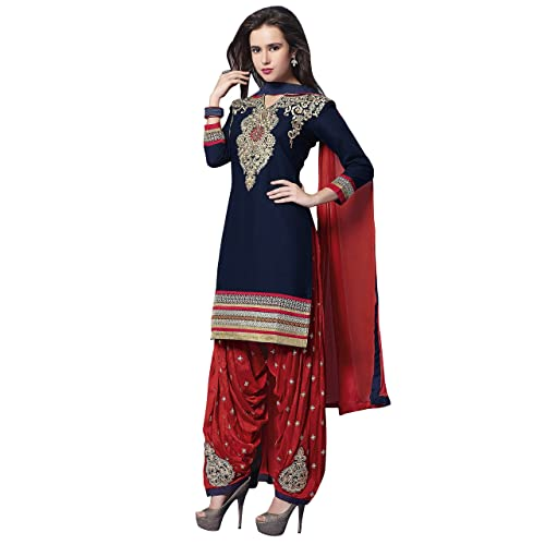 1fc3190ed1 Blue Patiala Dress: Buy Blue Patiala Dress Online at Best Prices in ...