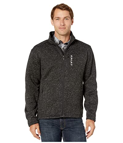 Ariat Caldwell Full Zip Sweater (Black) Men