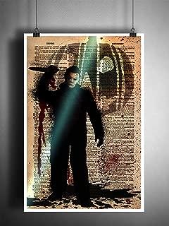 Horror art, Michael Myers Halloween artwork, creepy movie art