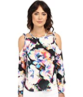 Nicole Miller - Summer Layered Floral Blouse