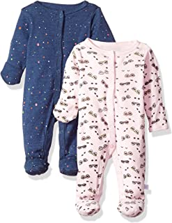 Rosie Pope Baby Girls' 2 Pack Coveralls
