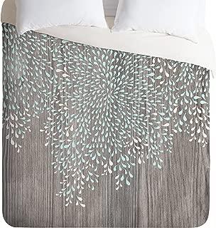 Deny Designs  Iveta Abolina Coastal Raindrops Duvet Cover, Twin/Twin XL
