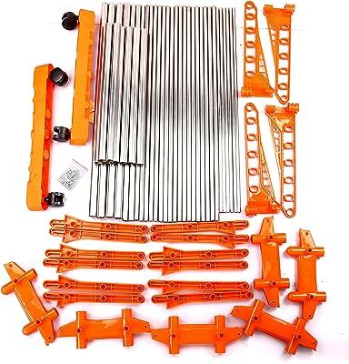 Bms Lifestyle Steel 2-Pole Drying Rack (Orange)