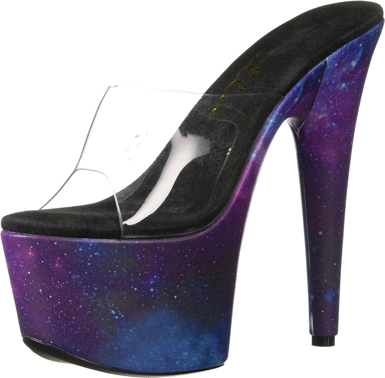 Ellie shoes Womens 709-galaxy Heeled Sandal