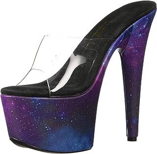 Ellie Shoes Womens 709-GALAXY 709-galaxy Black Size: