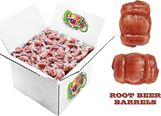 Sponsored Ad - IBC Root Beer Barrels Hard Candy, Kosher, 300 Individually Wrapped (5 LBS)