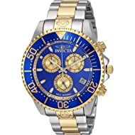 Invicta Men's Pro Diver Quartz Diving Watch with Stainless-Steel Strap, Two Tone, 21.7 (Model:...