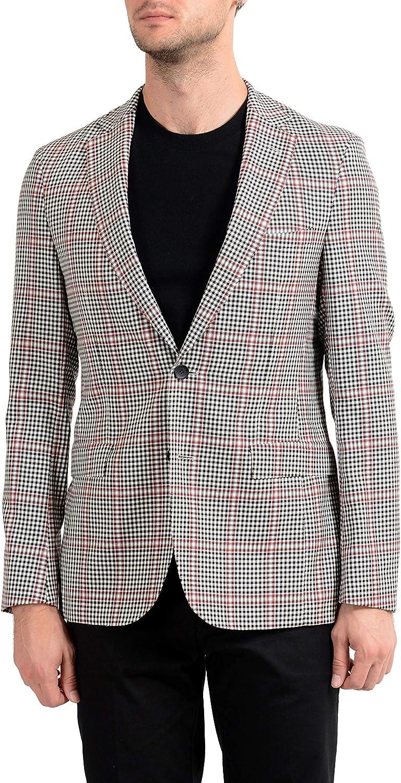 Hugo Boss Roan1 Men's 100% Wool Extra Slim Two Button Blazer Sport Coat Sz US