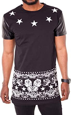 MAKI Styles - Camiseta - Estrellas - Cuello redondo - Manga ...