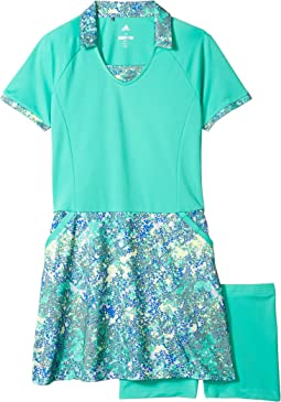 adidas Golf Kids Rangewear Dress (Big Kids)
