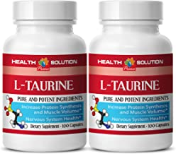 Taurine Liquid - L-Taurine 500MG - Boost Exercise Performance (2 Bottles)
