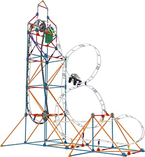 K'NEX – Looping Light-Up Roller Coaster Building Set – 448 Pieces – Ages 7+ – Construction Educational Toy
