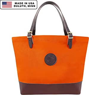 Duluth Pack Market Deluxe Tote (Orange)
