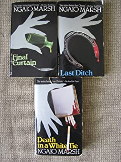 Final Curtain, Death in a White Tie, Last Ditch (3 Paperbacks) (Inspector Alleyn Series)