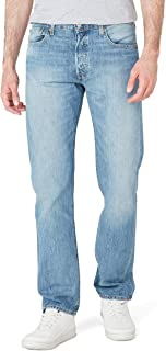 Levi's Erkek Daralan Kesim Kot Pantolon 501 LEVI'SORIGINAL FIT RHYTHM & BLUES, Mavi, W55 (Üretici Ölçüsü 32)