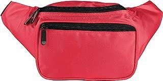 SoJourner Red Fanny Pack - Festival Packs for men, women | Cute Waist Bag Fashion Belt Bags