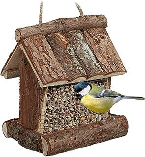 Volière oiseau Maison Mangeoire Oiseau Villa différentes couleurs v18 Nature
