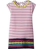 Tassels & Stripes Lightweight Sleeveless Dress (Toddler/Little Kids/Big Kids)