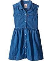 Levi's® Kids - Rolled Sleeve Short Sleeve Woven Dress (Little Kids)