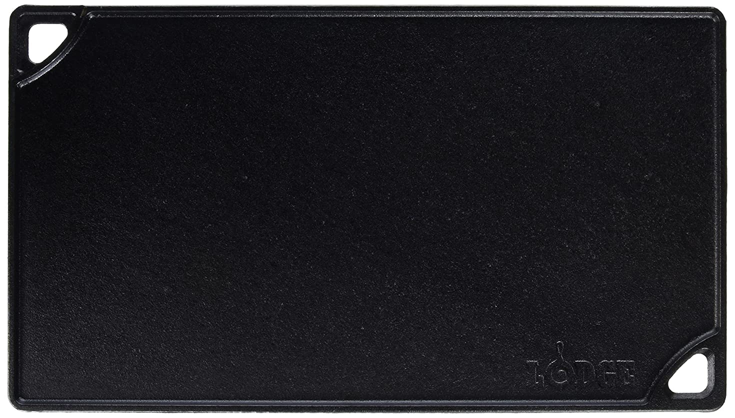 Lodge Cast Iron Reversible Grill/Griddle, LDP3, 16.75