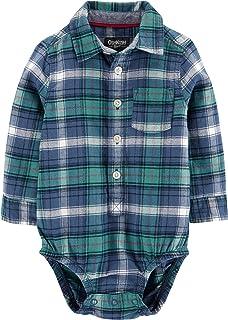 Osh Kosh Baby Boys Woven Bodysuit