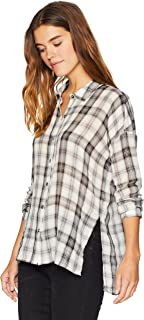 Splendid Women's Long Sleeve Button-Up Shirt