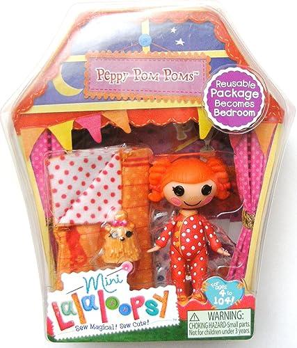 Mini Lalaloopsy – Peppy Pom Poms – Mini Poupée 7,5 cm (Import Royaume Uni)