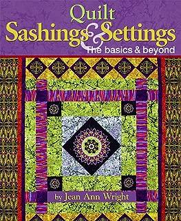 Quilt Sashings & Settings: The Basics & Beyond (Landauer)