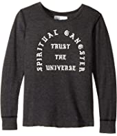 Spiritual Gangster Kids - Trust U Thermal Top (Big Kids)