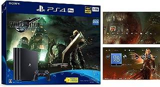 PlayStation 4 Pro FINAL FANTASY VII REMAKE Pack(HDD:1TB)【Amazon.co.jp特典】オリジナルPS4用ダイナミックテーマ 配信【メーカー生産終了】